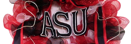 Faught's delivers flowers to the Arkansas State University campus in Jonesboro, AR.