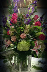 Garden Party Bouquet from Faught's Flowers & Gifts, florist in Jonesboro