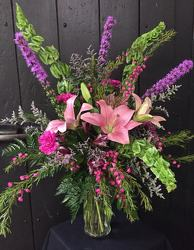 Shades of Pink from Faught's Flowers & Gifts, florist in Jonesboro