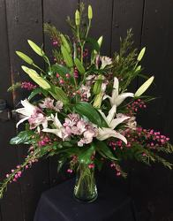 Lillies of Love from Faught's Flowers & Gifts, florist in Jonesboro