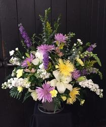 Lavender Sympathy from Faught's Flowers & Gifts, florist in Jonesboro