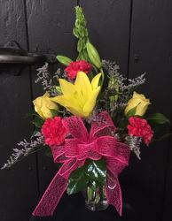 Yellow Surprise from Faught's Flowers & Gifts, florist in Jonesboro