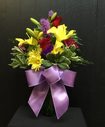 Lavender Fun from Faught's Flowers & Gifts, florist in Jonesboro
