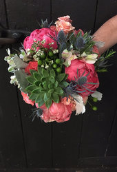Peony Delight from Faught's Flowers & Gifts, florist in Jonesboro