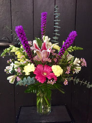 Purple Charm from Faught's Flowers & Gifts, florist in Jonesboro