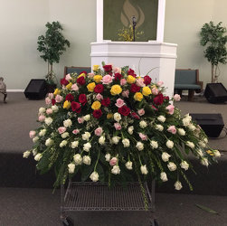 Rose Tribute from Faught's Flowers & Gifts, florist in Jonesboro