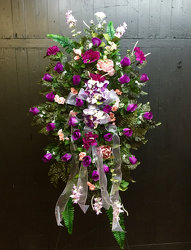 Shades of Purple from Faught's Flowers & Gifts, florist in Jonesboro