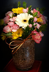 Gerbera Sensation Bouquet from Faught's Flowers & Gifts, florist in Jonesboro