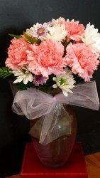 Pretty In Pink Bouquet from Faught's Flowers & Gifts, florist in Jonesboro