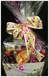 Beautiful Snack Basket For Her! from Faught's Flowers & Gifts, florist in Jonesboro
