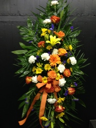 Yellow Burst Spray  from Faught's Flowers & Gifts, florist in Jonesboro