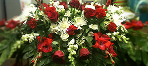 Memories of Love Sympathy Piece from Faught's Flowers & Gifts, florist in Jonesboro