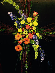 Summer Remembrance from Faught's Flowers & Gifts, florist in Jonesboro