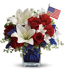 America the Beautiful by Teleflora from Faught's Flowers & Gifts, florist in Jonesboro