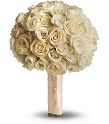 Blush Rose Bouquet from Faught's Flowers & Gifts, florist in Jonesboro