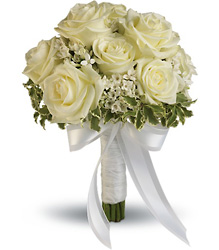 Lacy Rose Bouquet from Faught's Flowers & Gifts, florist in Jonesboro