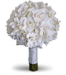 Gardenia and Grace Bouquet from Faught's Flowers & Gifts, florist in Jonesboro
