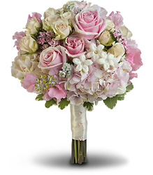 Pink Rose Splendor Bouquet from Faught's Flowers & Gifts, florist in Jonesboro