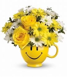 Teleflora's Be Happy Bouquet from Faught's Flowers & Gifts, florist in Jonesboro