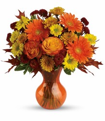 Teleflora's Forever Fall from Faught's Flowers & Gifts, florist in Jonesboro
