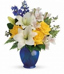Teleflora's Oceanside Garden Bouquet from Faught's Flowers & Gifts, florist in Jonesboro