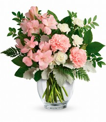 Whisper Soft Bouquet from Faught's Flowers & Gifts, florist in Jonesboro