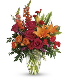 Punch Of Color Bouquet from Faught's Flowers & Gifts, florist in Jonesboro