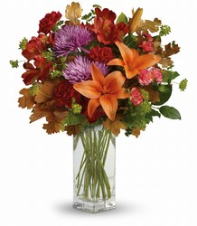Teleflora's Fall Brights Bouquet from Faught's Flowers & Gifts, florist in Jonesboro