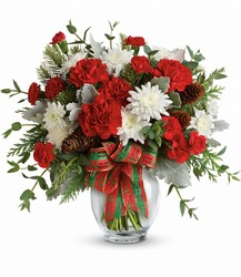 Teleflora's Holiday Shine Bouquet from Faught's Flowers & Gifts, florist in Jonesboro
