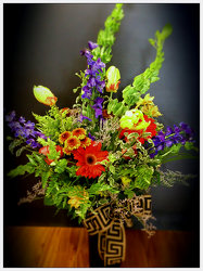 Ring my belles summer bouquet from Faught's Flowers & Gifts, florist in Jonesboro